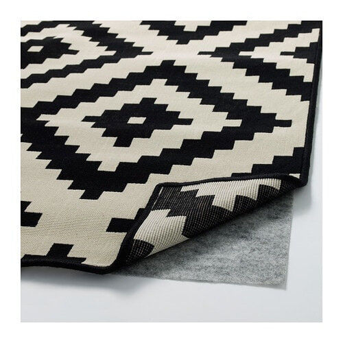 Ikea Black And White Rug Lappljung Rugs Ideas