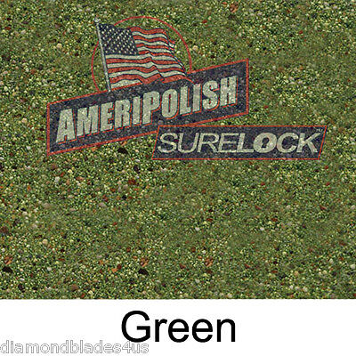 5 Gl. Green Concrete Color Dye For Cement Stain Ameripolish Surelock Color