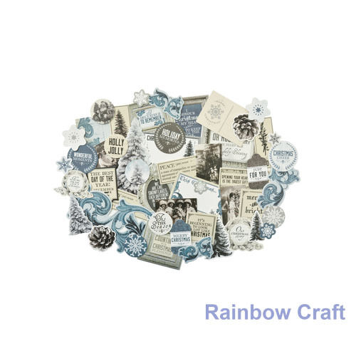 2016-2019 Kaisercraft Die Cuts Scrapbooking collectables 62 option Embellishment - Frosted