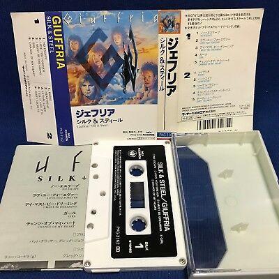 Giuffria Silk & Steel Japan Cassette Tape PKG-3162 1986 Gregg Angel F/S