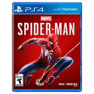 Spiderman ps4 for sale