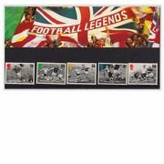 Football Legends Stamps