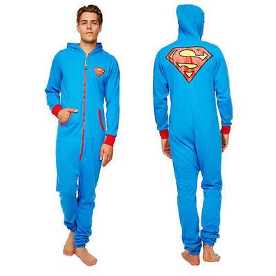 Superman Onesie / Adult Jumpsuit (onesies for men mens clothing super man onsie)