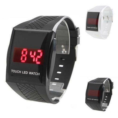 Touch Screen LED Digital Watch