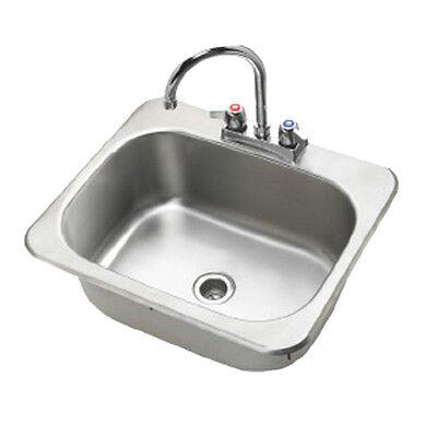 Krowne Metal Hs-2017 1 Compartment 20w Drop-in Hand Sink