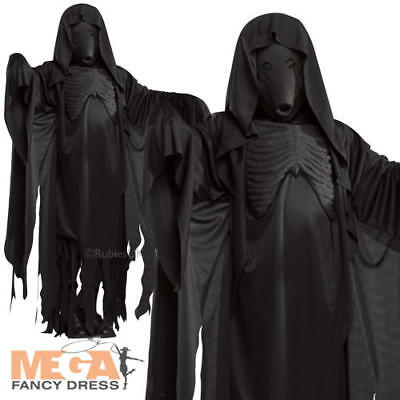 Dementor + Mask Adults Fancy Dress Harry Potter Book Week Mens Costume Outfit