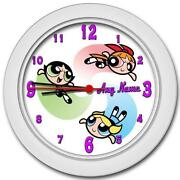 Powerpuff Girls Clock