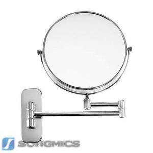 Magnifying mirror ebay for Miroir grossissant mural