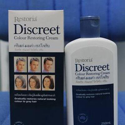 250ml Best Restoria Discreet Hair Colour Restoring Cream Take Years of Your