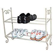 Shabby Chic Shoe Storage