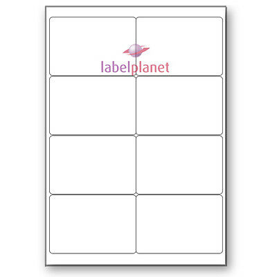 8 Per Page Blank Transparent Polyester Waterproof A4 Clear L