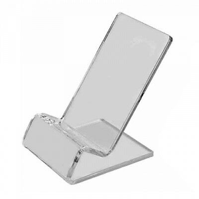 Clear Acrylic Stand Mount Holder for Cell Phones / iPod / iPhone 4 4G 4S