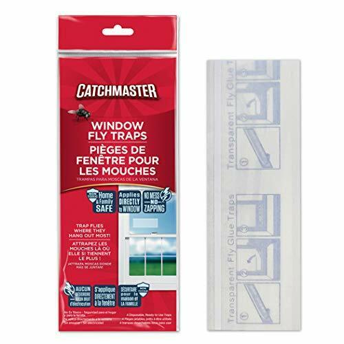 Catchmaster Bug & Fly Clear Window Traps - Pack of 12 3 Pack