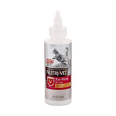 Nutri-Vet Eye Rinse Liquid for Cats, - Vet Eye