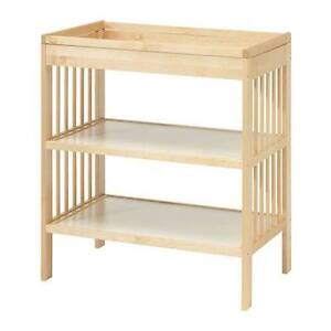 IKEA Changing Table + Pad, IKEA Table à Langer + Coussinet