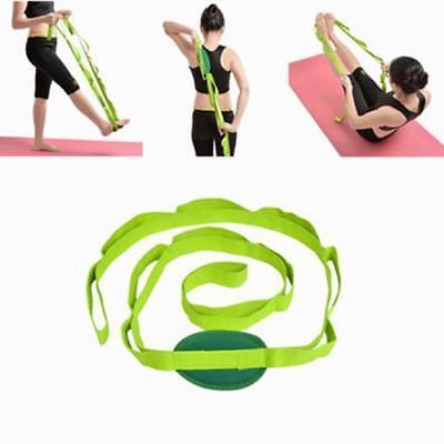 Ipree Long 183Cm Yoga Stretch Strap Belt Stretches Band Gym Warm Up Stretching