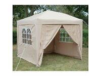 Airwave 2.5 x 2.5 mtrs. Beige Gazebo - Only used once - Excellent Condition