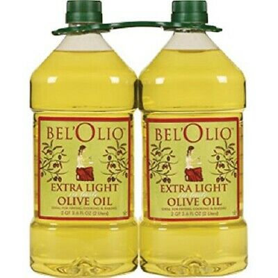 Belolio Twin Extra Light Tasting Olive Oil 4 Liters  (Extra Light Olive Oil)