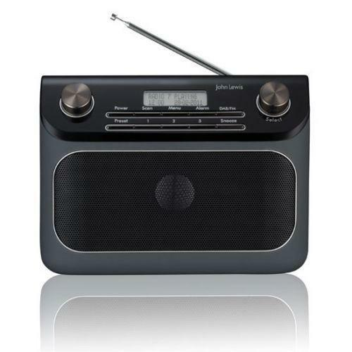 dab radio alarm clock digital radios ebay. Black Bedroom Furniture Sets. Home Design Ideas