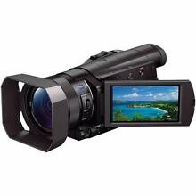 Sony FDR-AX100E 4K Ultra HD Video Camcorder Five Dock Canada Bay Area Preview