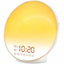 Wake Up Light Sunrise Alarm Clock for Kids, Heavy Sleepers, Bedroom with Sunrise
