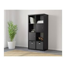 Dark Brown Shelving Unit / Storage