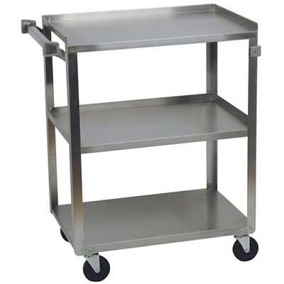 Stainless Steel Utility Cart 300 Lbs. Capacity 16-14wx27-12dx32-18h