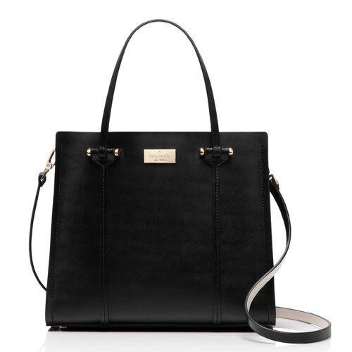 Kate Spade Bag WKRU3036 Arbour Hill Small Elodie Black Pebble Agsbeagle