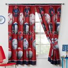 Red's Window Lined Curtains