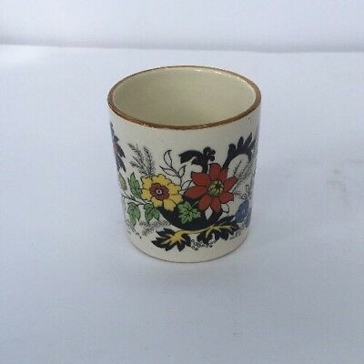 Vintage Sandland Hanley Staffordshire Toothpick Holder England Floral