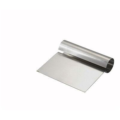 Winco Dsc-1 5.25x4x0.25-inch Steel Dough Scraper