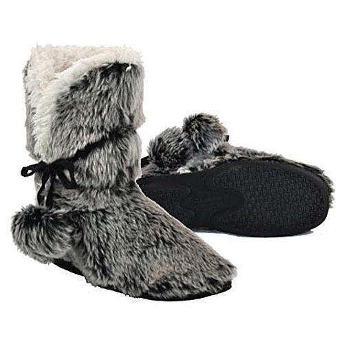 dbc71d9c4cca4 Faux Fur Slipper Boots