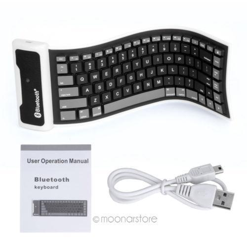 Roll Up Bluetooth Keyboard Android: Bluetooth Roll Up Keyboard