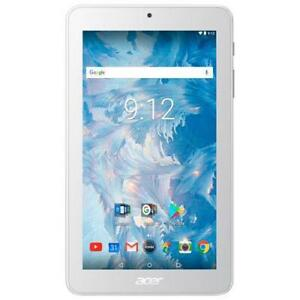 Acer Iconia One 7 Tablet. 16GB. Touchscreen IPS Display. WiFi. Quad Core. Android. Dual Camera Bluetooth. Acer Warranty