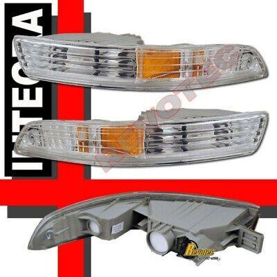 94 95 96 97 Acura Integra Euro Bumper Signal Lights 1 Pair  Acura Integra Euro Clear Bumper