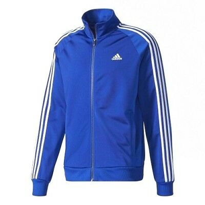 Adidas Men's Essentials 3-Stripe Tricot Track / Athletic / Active Jacket CD8760 Mens Athletic Active Jacket