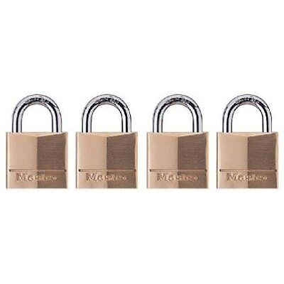 Master Lock 120q Keyed-alike Wide Padlocks 34-inch Solid Brass