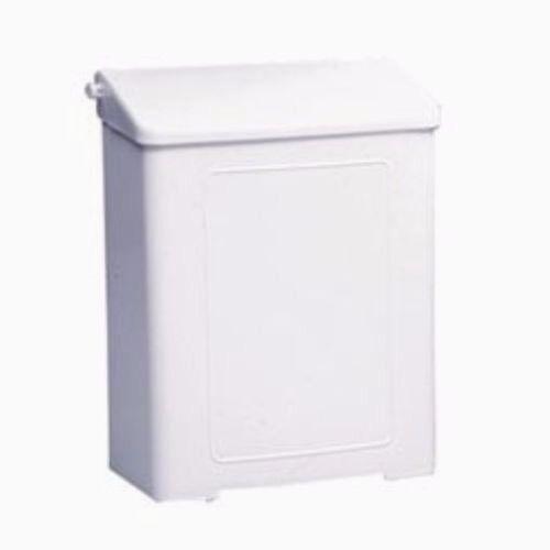 Safe-use Plastic Sanitary Napkin Receptacle-White #1102 (New in Box) Free Bag