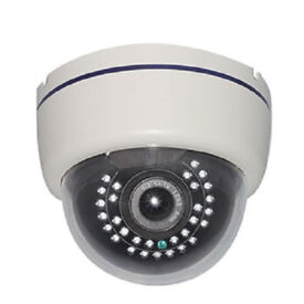AHD INDOOR 2MP AHD CCTV CAMERA METAL DOME VERIFOCAL MUST be used with AHD DVR