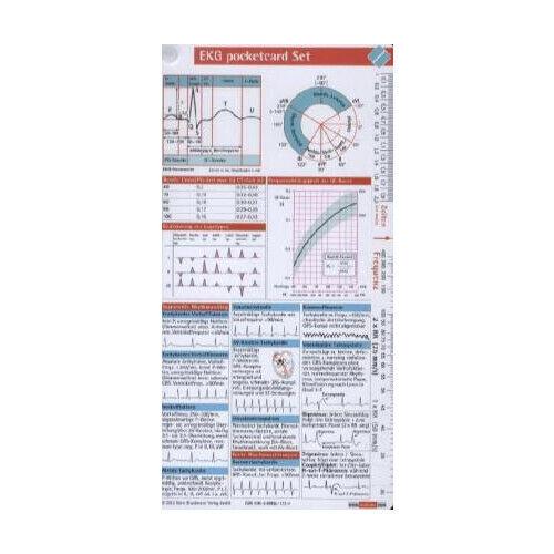 EKG pocketcard Set, Kartenfächer pocketcards