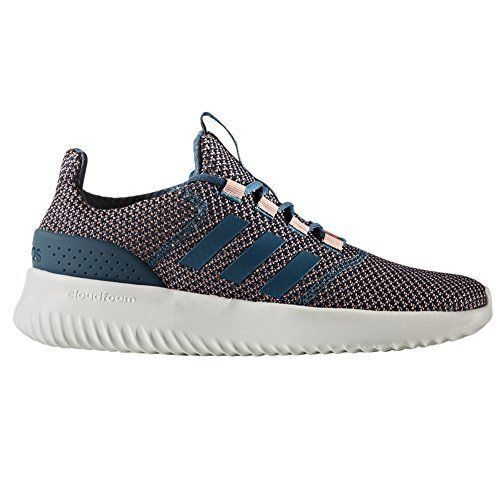 SCARPE ADIDAS CLOUDFOAM ULTIMATE BC0036 TRAPINK BLU ROSA sneakers DONNA RUNNING