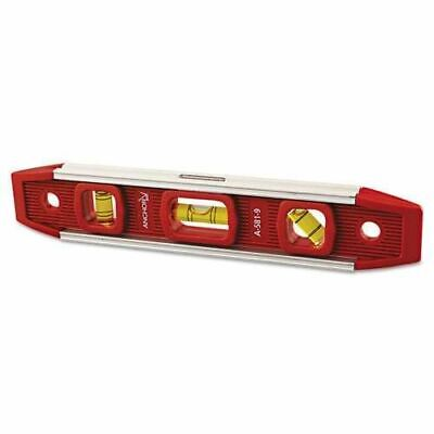 Anchor Brand 100-a581-9 Magnetic Torpedo Level 9 Long Aluminum Tri-vial