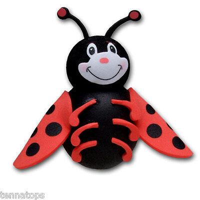 Tenna Tops®  Ladybug Car Antenna Topper / Antenna Ball / Mirror Dangler - Antenna Toppers