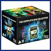 Ben 10 Alien Force DVD
