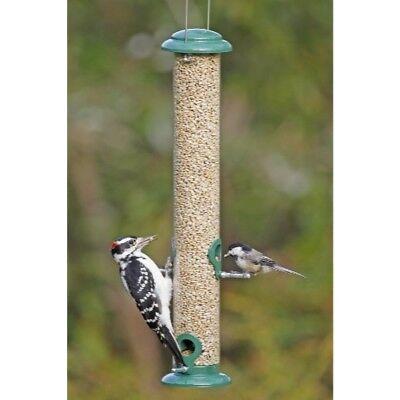 "Stokes Select Wild Bird Feeder w/ 4 Feeding Ports,Green,19""Tall,1.1LB Capacity"