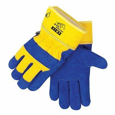 Black Stallion Insulated Cowhide Winter Work Gloves Large
