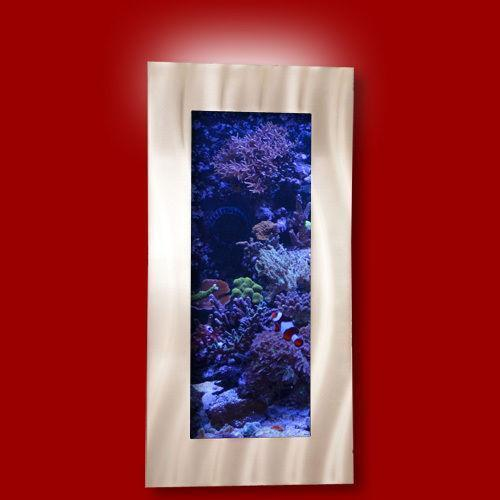 Wall mounted fish tank ebay for Fish wall mount