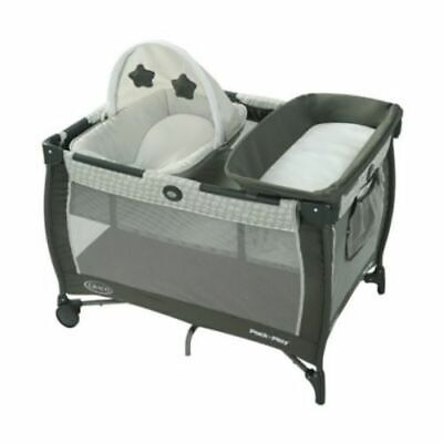 Graco Pack 'n Play Care Suite Baby Playard - Babs (Gray/White)
