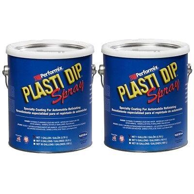 Performix Plasti Dip 10103s Black Gallon Rubber Spray 2 Pack