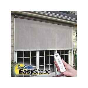 12 Sunsetter Motorized Easyshade Solar Screen Sunsetter